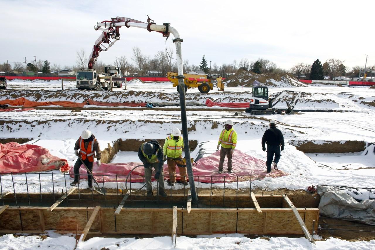 Construction at Greyhound Park